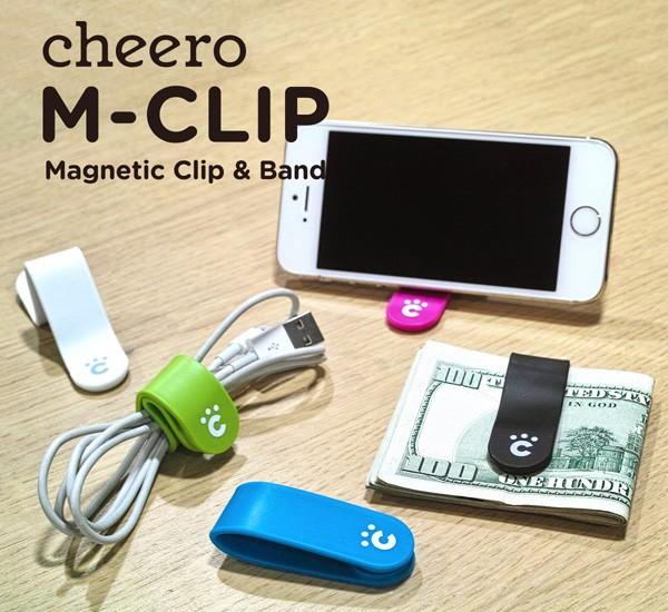 cheero CLIP/チーロクリップ 万能クリップ ケーブ...