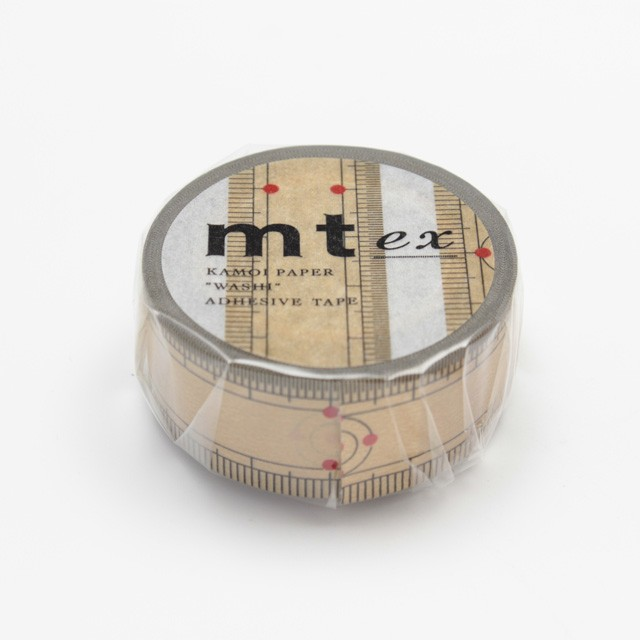 mtマスキングテープ(1巻)/mt ex 竹定規/MTEX1P9...