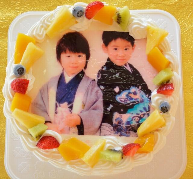 フォトケーキ フルーツ 5号 直径15cm   ...