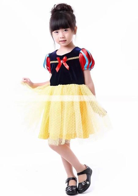 子供衣装 白雪姫 コスプレ コスチューム 子供...