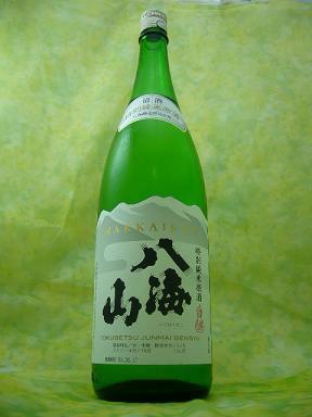【夏季限定】八海山 特別純米原酒生詰 1.8L