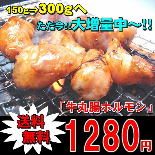 【送料無料】大増量中!牛丸腸ホルモン(味付けな...