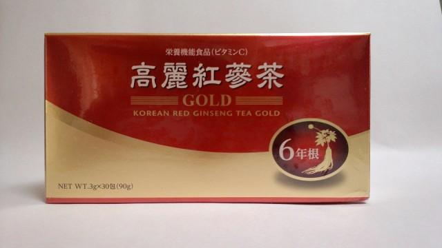 高麗紅蔘茶GOLD(3g×30包)・上薬に使用さ...