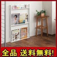 【送料無料!ポイント2%】超薄型 壁面ミニマガジ...