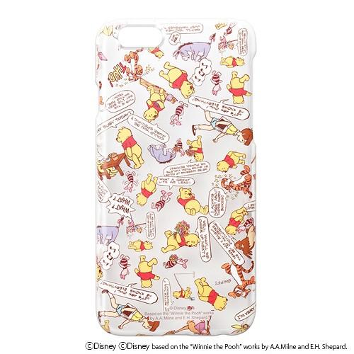 iPhone6 (4.7inch) ケース ディズニー くまのプー...
