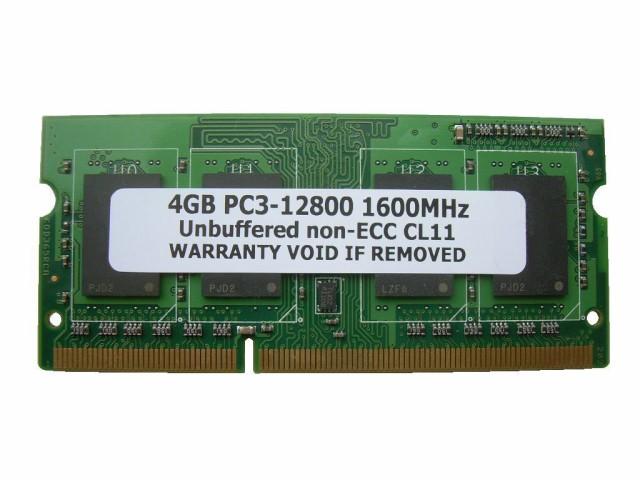SODIMM 4GB PC3-12800 DDR3 1600 204pin CL11 PC...