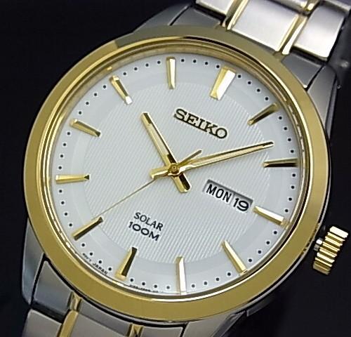 SEIKO/セイコー【ソーラー時計】メンズ腕時計 コ...