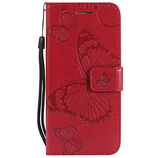 ebfe345d5d iPhone6 ケース iPhone6s カバー アイフォン6カバーかわいい押し蝶柄 手作り 高級PU レザーケース