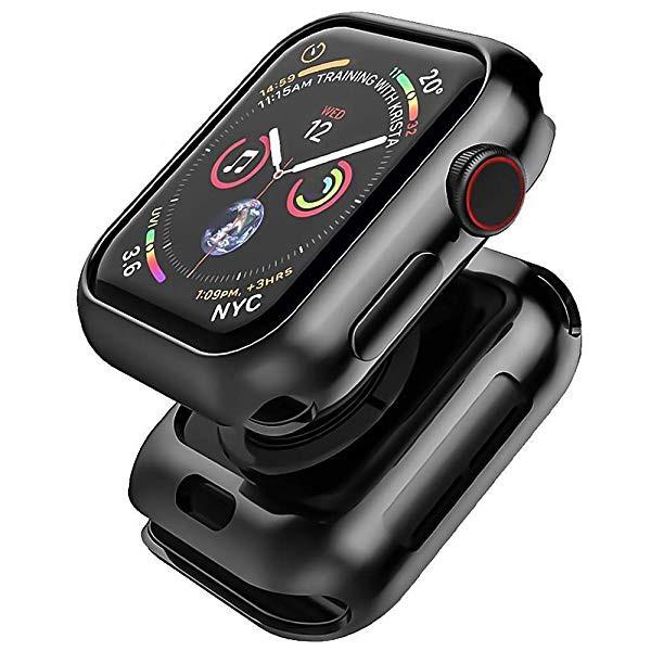 Apple watch 4 44mm ケース メッキ加工 メタリッ...