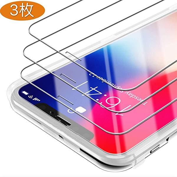 iPhone XR ガラスフィルム iPhone 11 Pro ガラス...