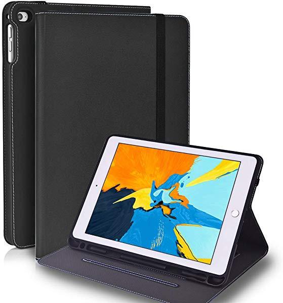 iPad 9.7 ケース ペンシル収納 iPad第6世代 ケー...