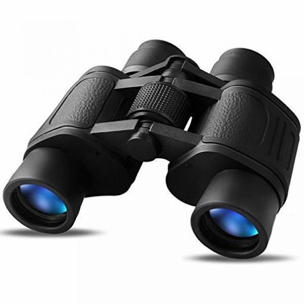30*60倍率双眼鏡、ポータブル望遠鏡、コンパクト双眼鏡、広く明るい視野が得られ、 ...ウトドア活動などに適応する(ブラック)