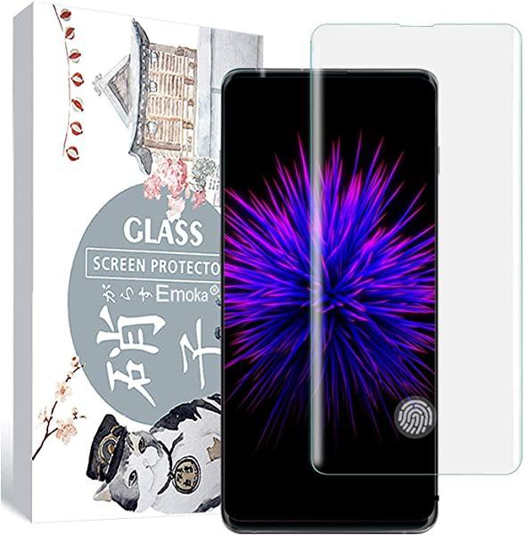 Galaxy S10 Plus ガラスフィルム 全面3D曲面 S10+...