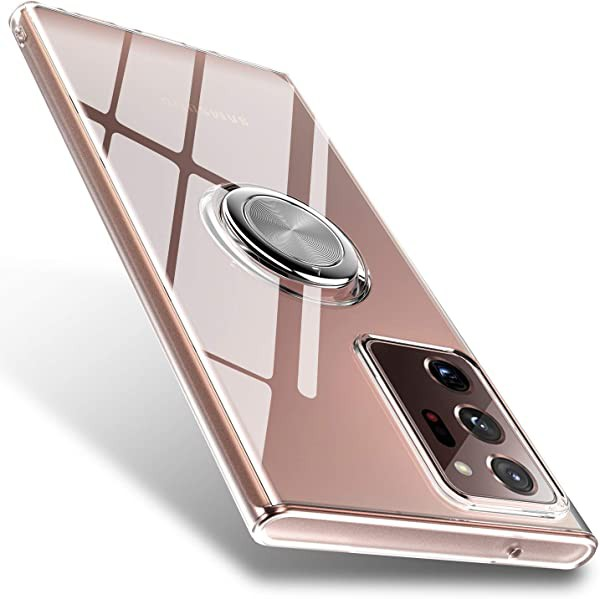 Galaxy Note20 Ultra 対応 スマホケース リング付...