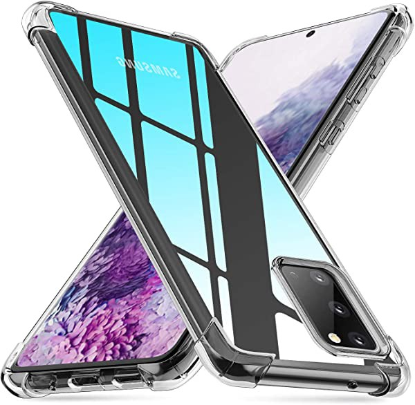 Galaxy S20 ケース クリア 透明 tpu 軽量 薄型 グ...