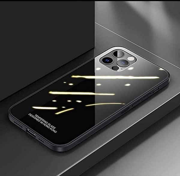 iPhone12Pro iPhone12 ケース ガラス カバー お洒...