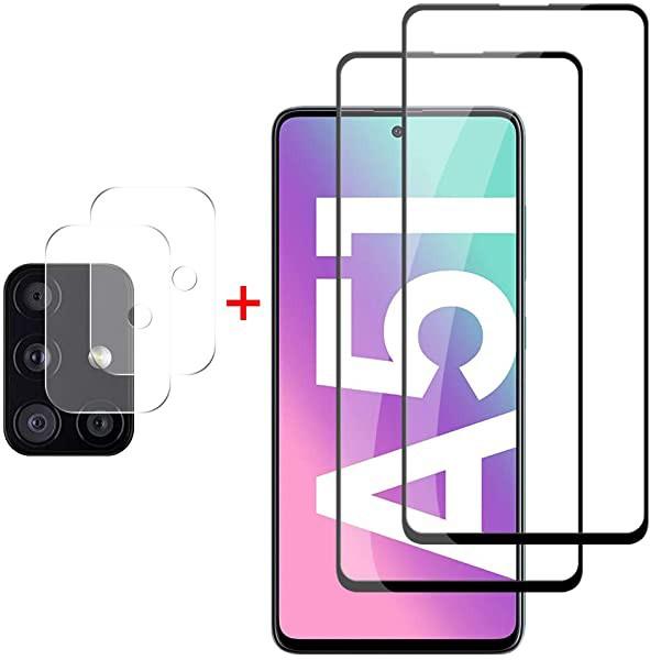 Galaxy A51 5G ガラスフィルム SCG07 SC-54A 強化...
