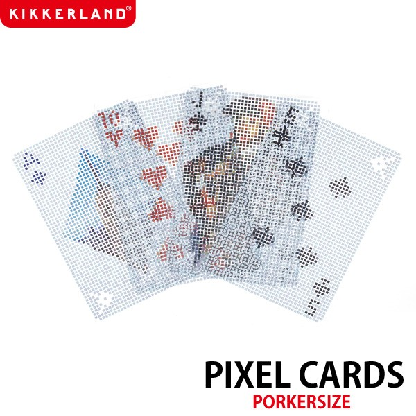 【KIKKERLAND/キッカーランド】Pixel Cards ピク...