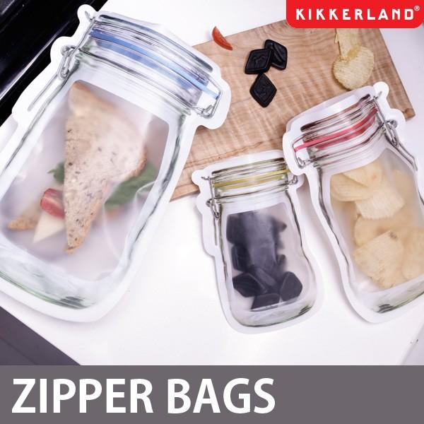【KIKKERLAND/キッカーランド】JAR ZIPPER BAGS/...