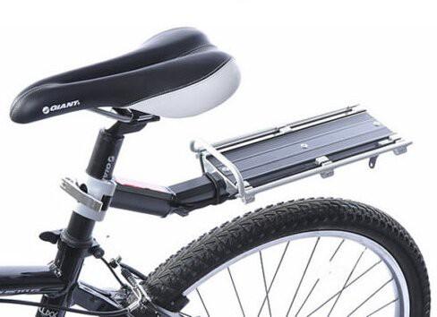 【B034】リアキャリア 後付け 自転車用荷台 ゴム...