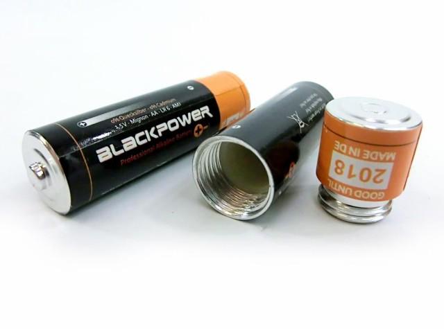 SMP*【シークレットBOX】単三電池型シークレットB...