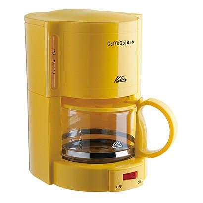 ◆カリタ KalitaコーヒーメーカーV-102-YL【イエ...