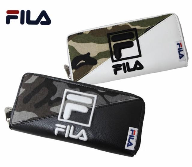 【FILA】ロングウォレット(長財布)◆フィラ迷彩...