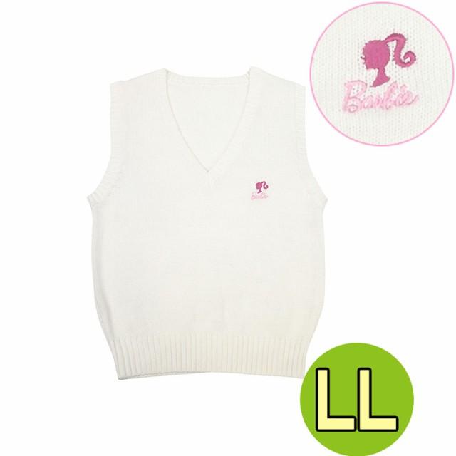 Barbieベスト☆[LL]ピュアホワイト♪ バービース...