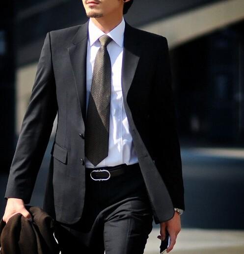★メンズ/長袖スーツ/ビジネスドレス/上着/礼服/...