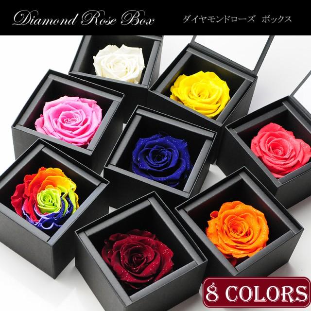 【幸運を呼ぶ7色のバラ】プリザーブドフラワー『...