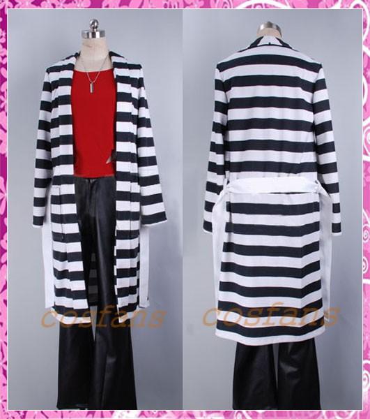 コスプレ衣装 ラッキードッグ1 ジュリオ 囚人服