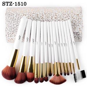 STZ-1510 15本メイクブラシセット、化粧筆セット...