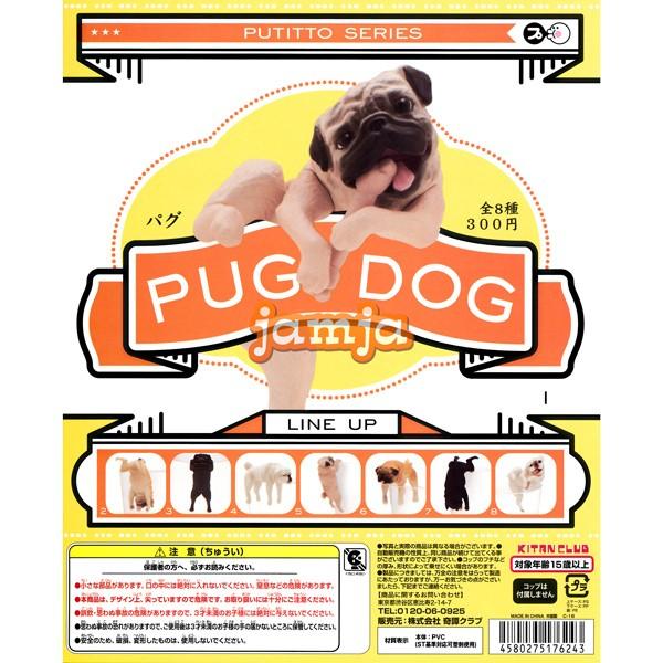 PUTITTO パグ PUG DOG 全8種