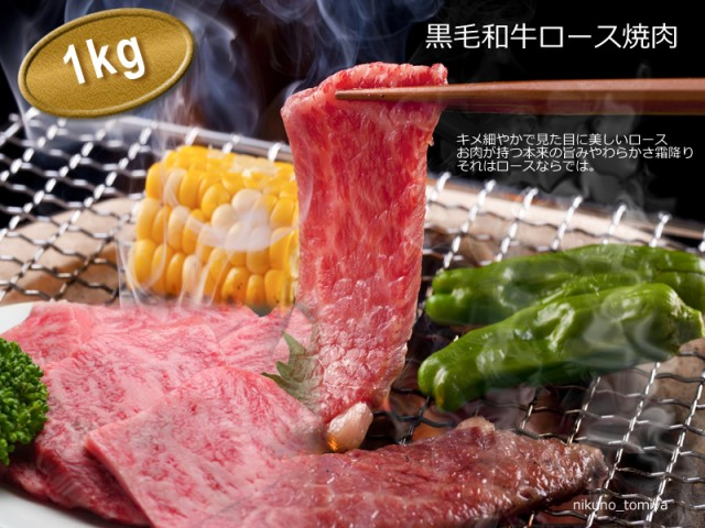 国産 黒毛和牛 焼肉 送料無料 ロース500g