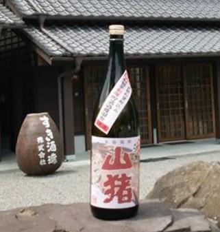 芋焼酎 赤山猪 1800ml  すき酒造の紅紫芋焼酎7...