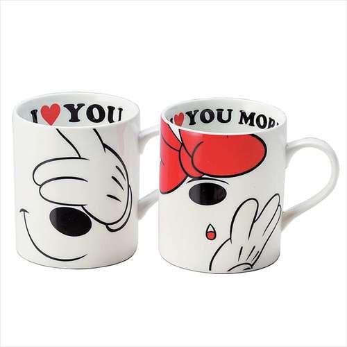 ◆ミッキー&ミニー マグカップ2個セット/ラブメ...