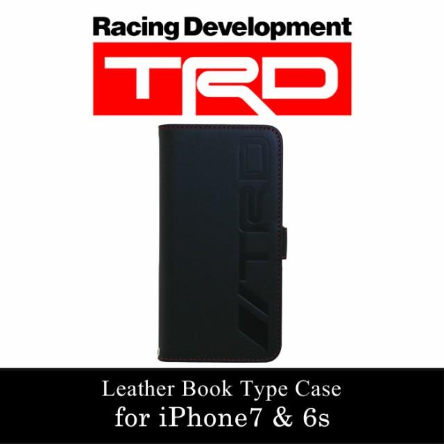 9c9f374513 エアージェイ TRD 公式ライセンス iPhone7 6sケース 手帳型 本革 アイフォン7ケース 6s ブランド メンズ TRD かっこいいの通販は Wowma!