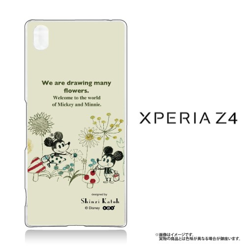 Xperia Z4 (SO-03G SOV31 402SO) 専用 【Disney/...