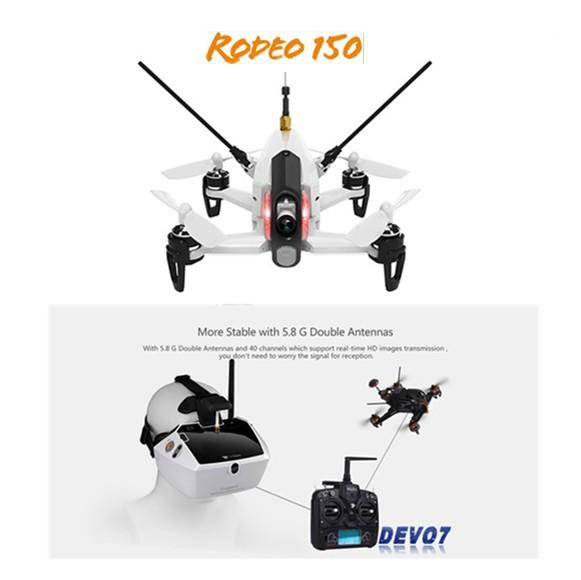 Walkera Rodeo 150 & DEVO 7 レーシング Goggle 4...