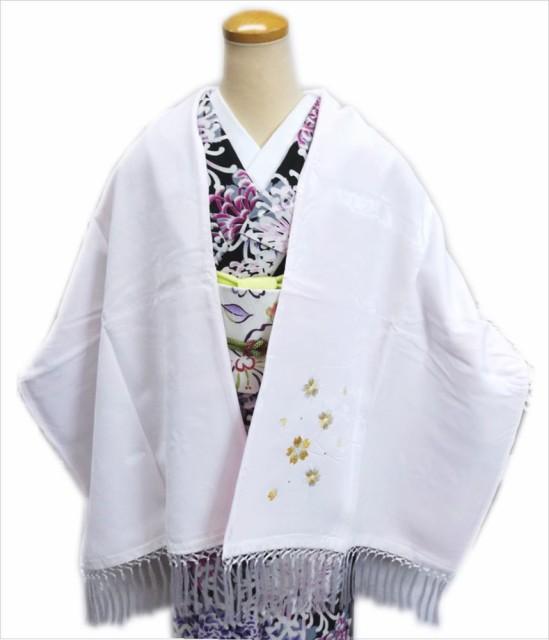 (少難有り)和装着物&洋服に ベルベット刺繍シ...