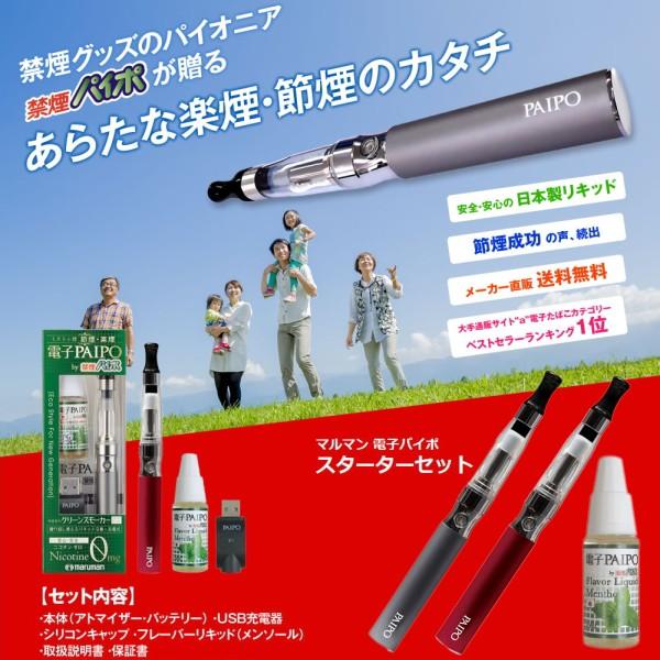 電子PAIPO(電子パイポ)[日本製]スターターセッ...