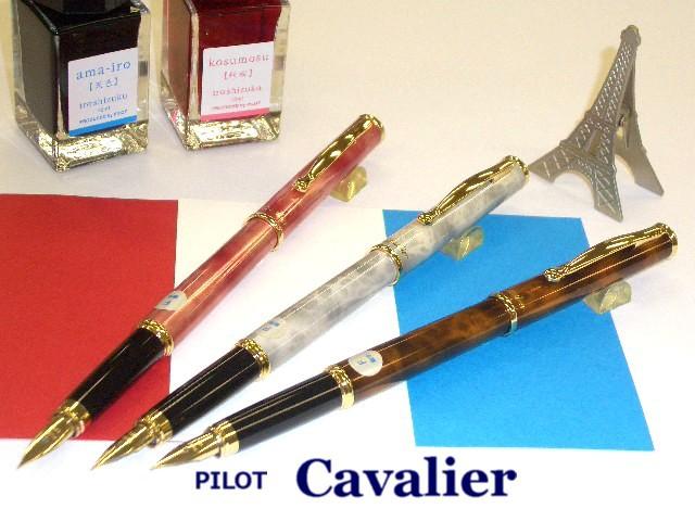 マーブル調◆パイロット万年筆 カヴァリエ 7色 F...