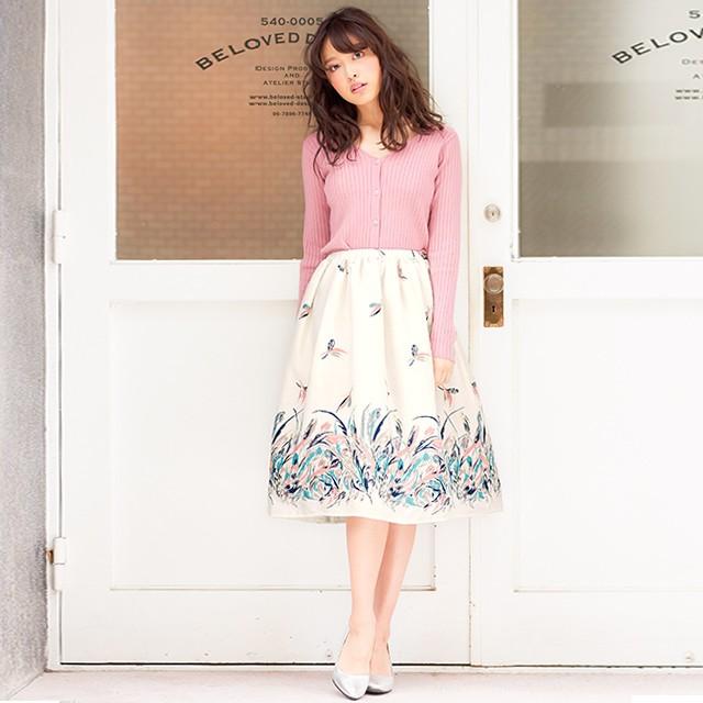 愛され女子のふんわり春服。/code201