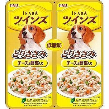 【いなばペット】ツインズ とりささみ チーズ・...