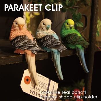PARAKEET CLIP/パラキート クリップ クリップホル...