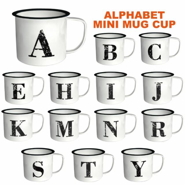 1E-249 アルファベットミニマグカップ/アメリカ雑...