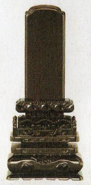 位牌:紫檀 黒檀・切高欄 (5.0寸〜6.0寸)