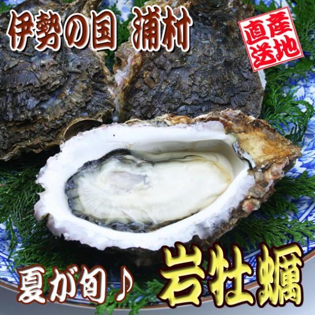 【送料無料】伊勢の国浦村の岩牡蠣[大5ケ入] ナイ...