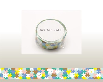 mt マスキングテープ★mt for kids【ジグソー...