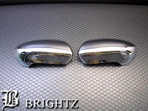 BRIGHTZ デュアリス J10 メッキドアミラーカバー